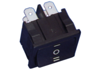 IN061 - INT. ON-OFF-ON 250VAC 6A