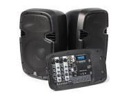 ASKY170117 - Conjunto Portátil - ST-090 Coluna Portátil 12'' USD/SD/VHF