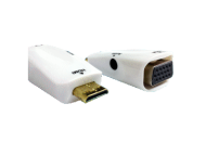 INF-HDMIVGA04 - CONVERSOR MINI HDMI -> VGA C/AUDIO PROK