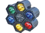 MSSIXLIGHT - PROJECTOR DE EFEITOS JB SYSTEMS SIX LIGHT
