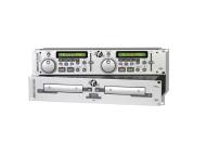 MSCD570 - LEITOR DE CD´S DUPLO JB Systems CD570 Silver
