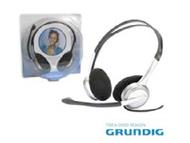 38736 - AUSCULTADOR STEREO C/ MICROFONE P/PC GRUNDIG