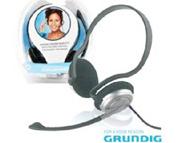 38737 - AUSCULTADOR STEREO C/ MICROFONE P/PC GRUNDIG