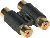 JBS1309 - JB SYSTEMS 1309 - Adaptador duplo RCA Fêmea / Fêmea