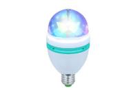 MOONBULB - PROJECTOR LUZ C/ EFEITO LEDS RGB E27/E14/BAINETA KAM