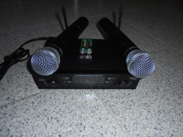 MIV-120M - MICROFONE S/FIOS 2UPLO VHF