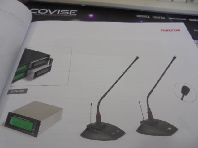MISCI 710P - MICRO SEM FIOS DE SECRETARIA PARA PRESIDENTE