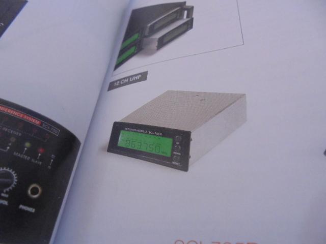 MISCI-705R - MODULO RECEPTOR PARA A CENTRAL MICROPROC. SCI-700