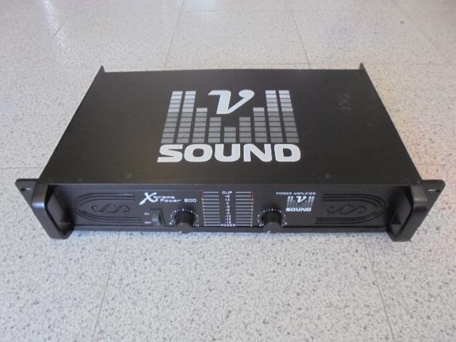 MSXTREMEP200 - AMPLIFICADOTR DE SOM 2X200W