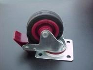 AUDRKA08 - Roda giratória de 75mm para rack com travão